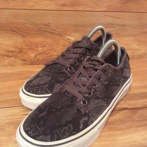 Vans Women Flat Walking Sneakers Sz 8.5